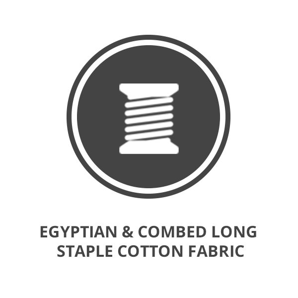 Aumore Wool Egyptian & Combed Long Staple Cotton Fabric