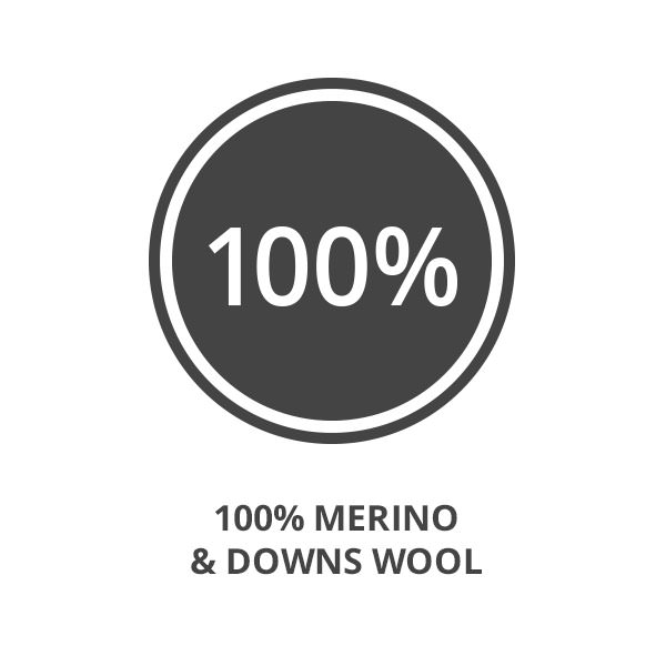 Aumore Wool 100% Merino & Downs Wool